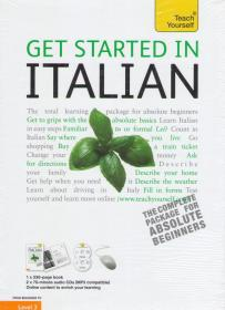 Фото книги Get Started in Italian: Teach Yourself + CDs